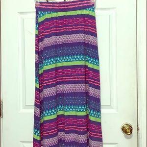 Girl's maxi skirt